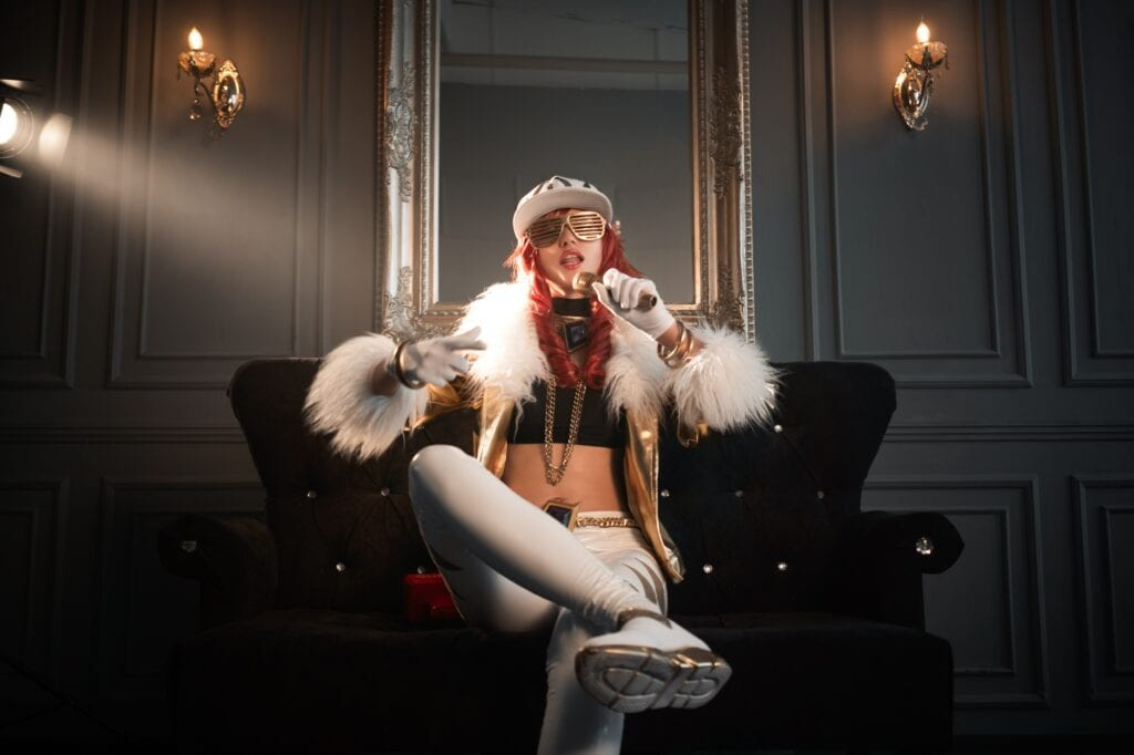 K/DA Akali: Prestige Edition cosplay | косплей - Косплей