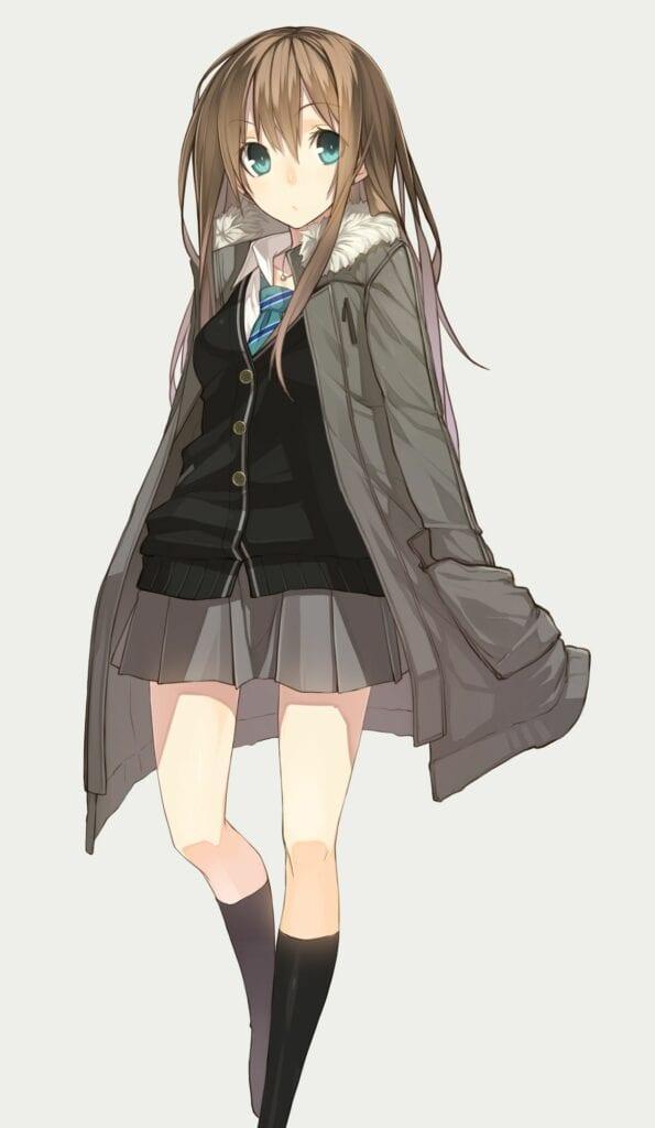 Рин Шибуя / Rin Shibuya хентай аниме арты - школьницы, Сиськи, Попки