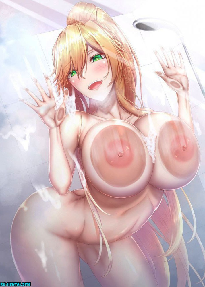 Большие сиськи Hentai - школьницы, Сиськи, поза, большие сиськи