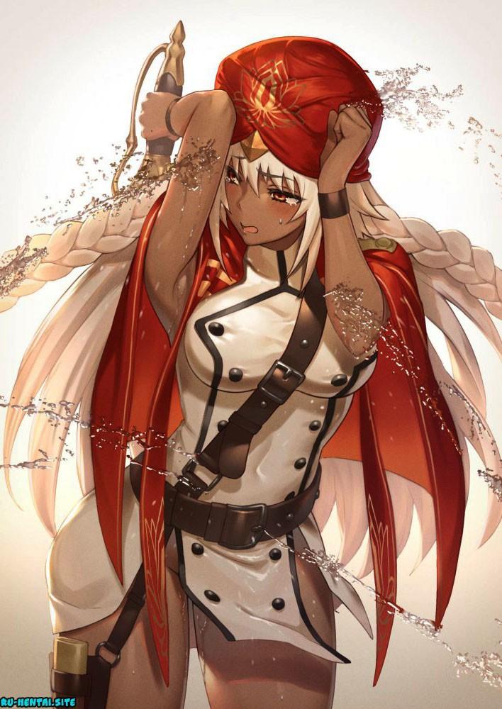 Fate/Grand Order hentai #1 - Сиськи, Попки, поза, подмышки, маленькие сиськи, Косплей, короткие волосы, большие сиськи